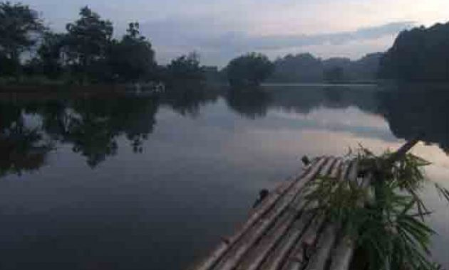 danau situ gede dari stasiun bogor