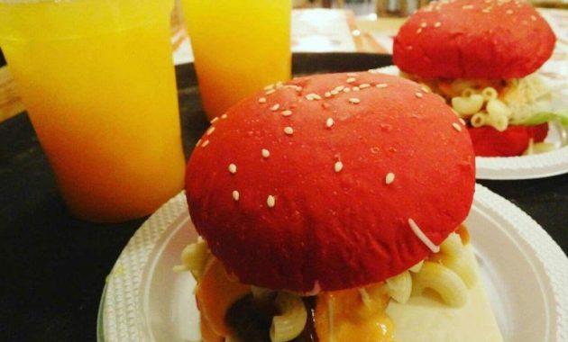 gambar menu burger upsize bogor
