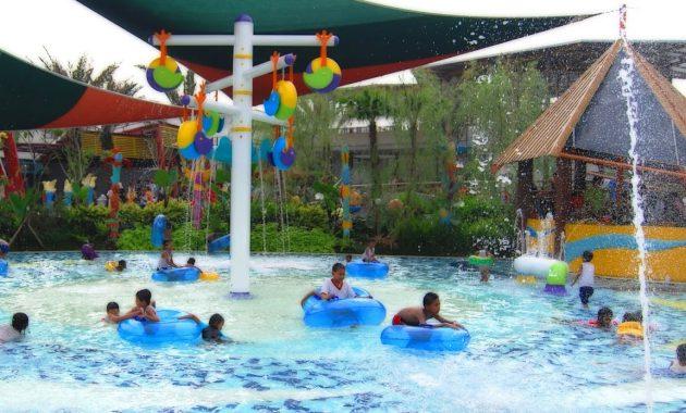 the jungle water park bogor wahana air harga tiket