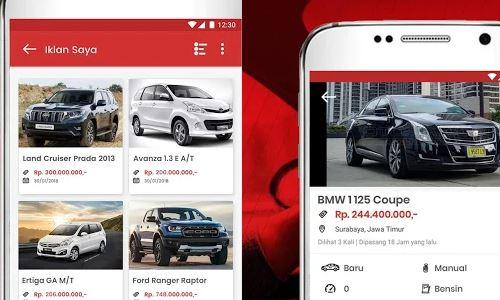 Rekomendasi Aplikasi Jual Beli Mobil Yang Dapat Diandalkan