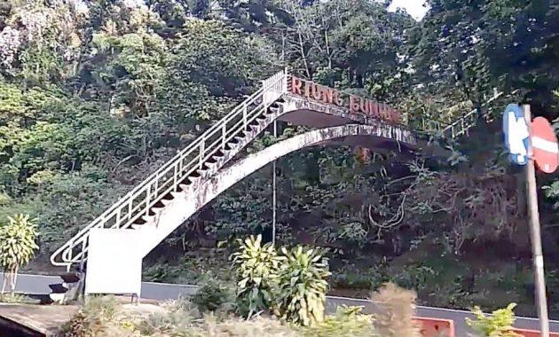 Misteri Jembatan Villa Soekarno di Puncak