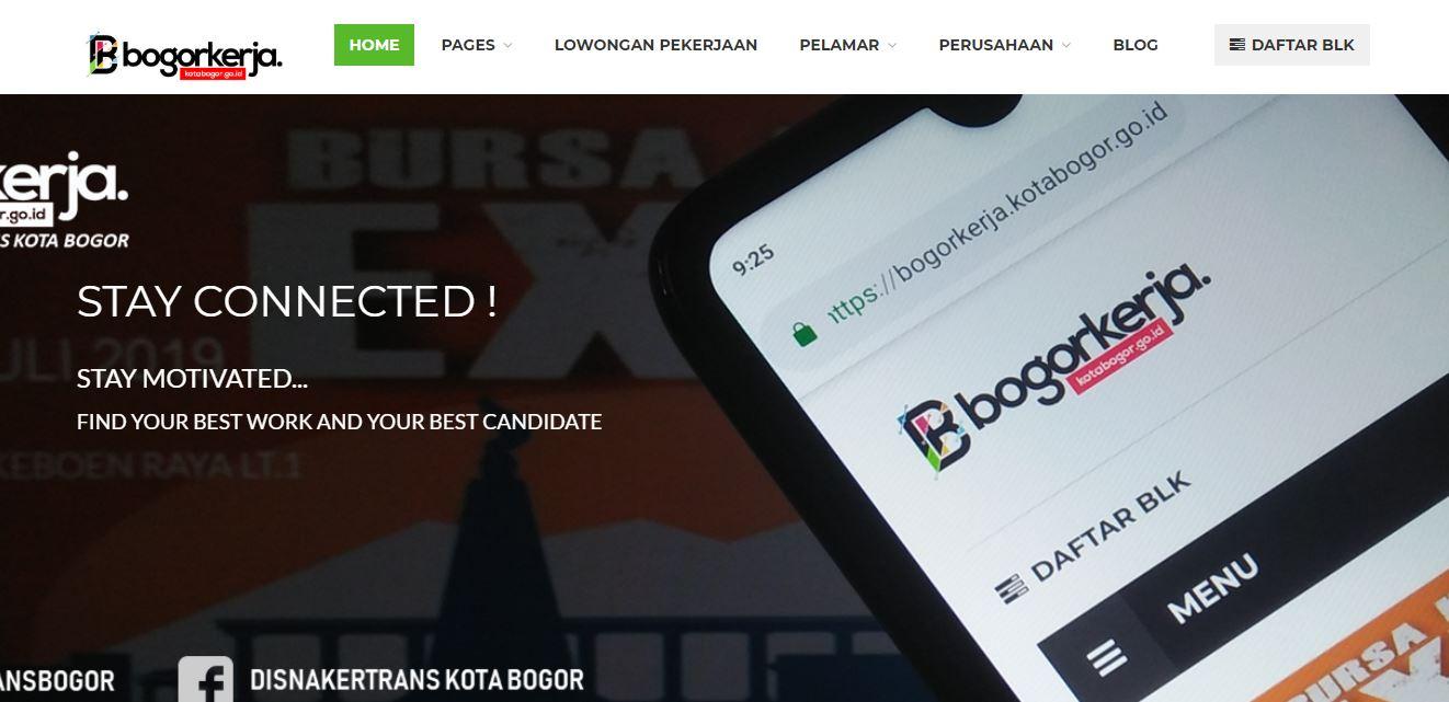 Daftar Situs Lowongan Kerja Di Bogor Terpercaya Portal Seputar